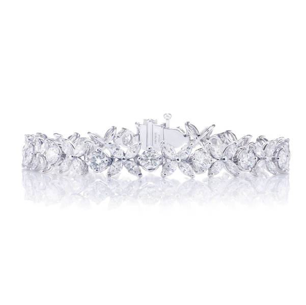 diamond bracelet featuring marquise and round diamonds in a stunning design.jpg