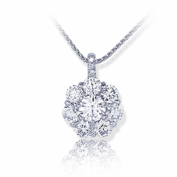 pendant featuring a 0.70 ct. GIA certified round diamond center encircled by round diamonds.jpg