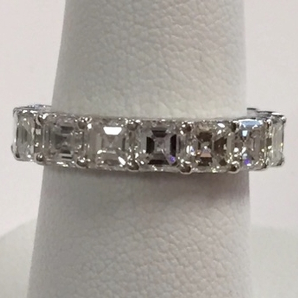 Asher Cut Diamond Band