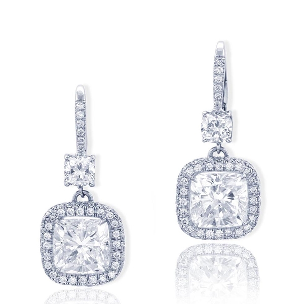 diamond drop earrings featuring exquisite cushion-cut diamond centers.jpg